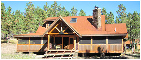 Corten Corrugated Roofing