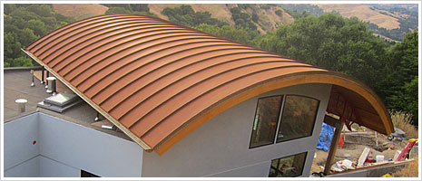 Delivered To Canada Corten Roofing Corrugated Standing